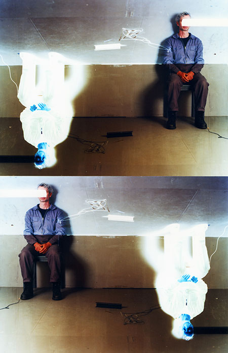 """""""person in a room"""", 2012-17, analoger C-Print, Auflage 3, 100 x 65 cm"""