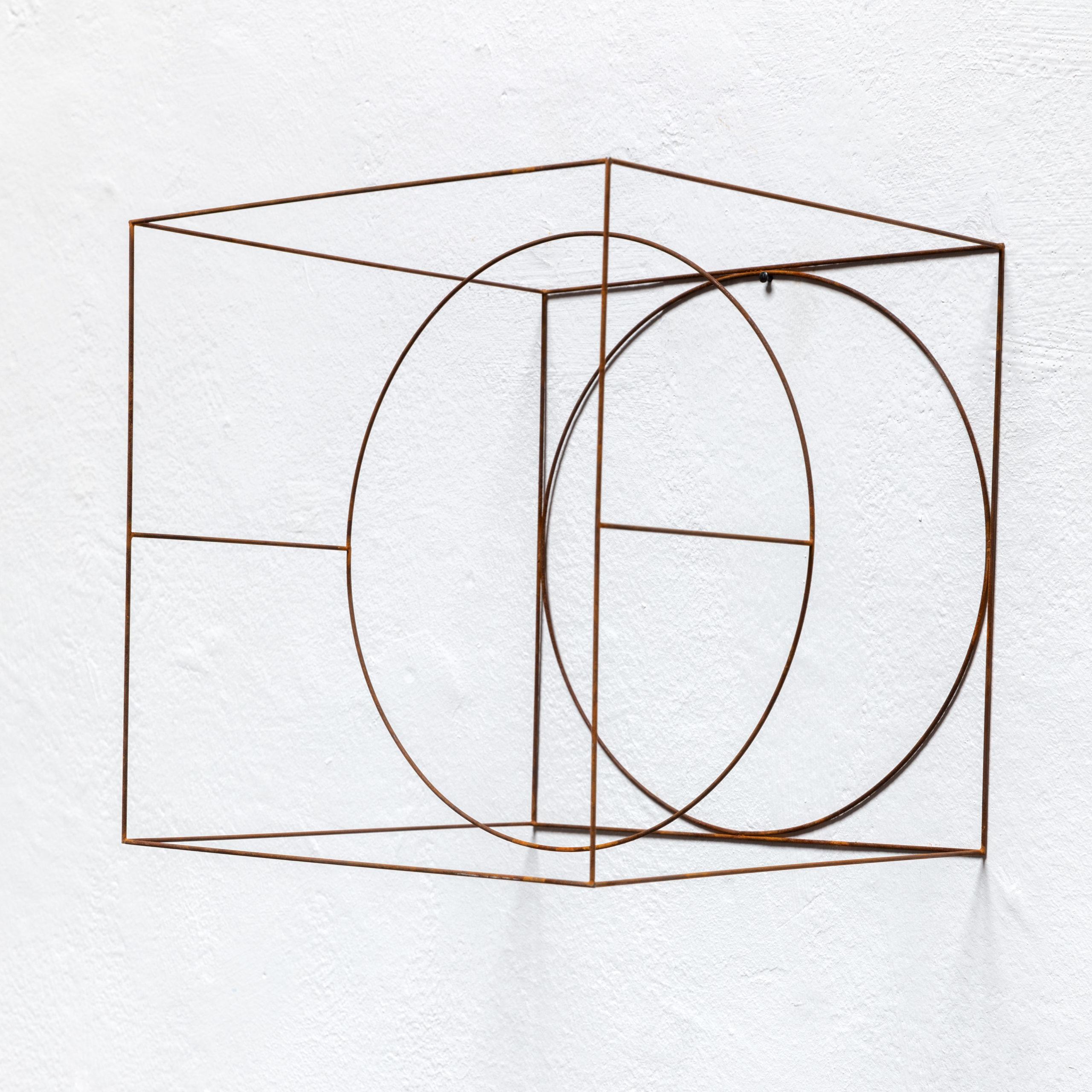 ANNE ROSE REGENBOOG, Cube Objects, 2018, Metall, 20x20x20cm