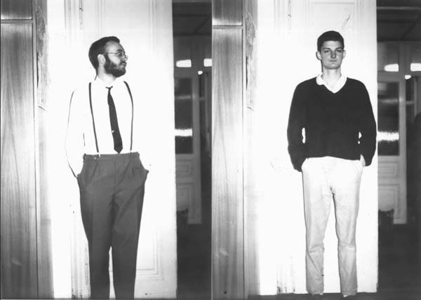 Andreas Karner und Christian Macketanz 1984