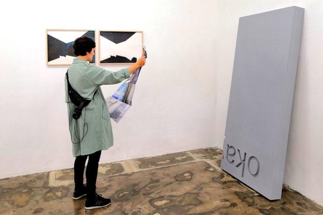 Opening of fake & fragment Juni 2020 im sehsaal