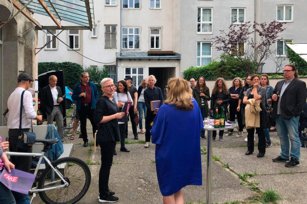 opening fake & fragment sehsaal Wien, Juni 2020