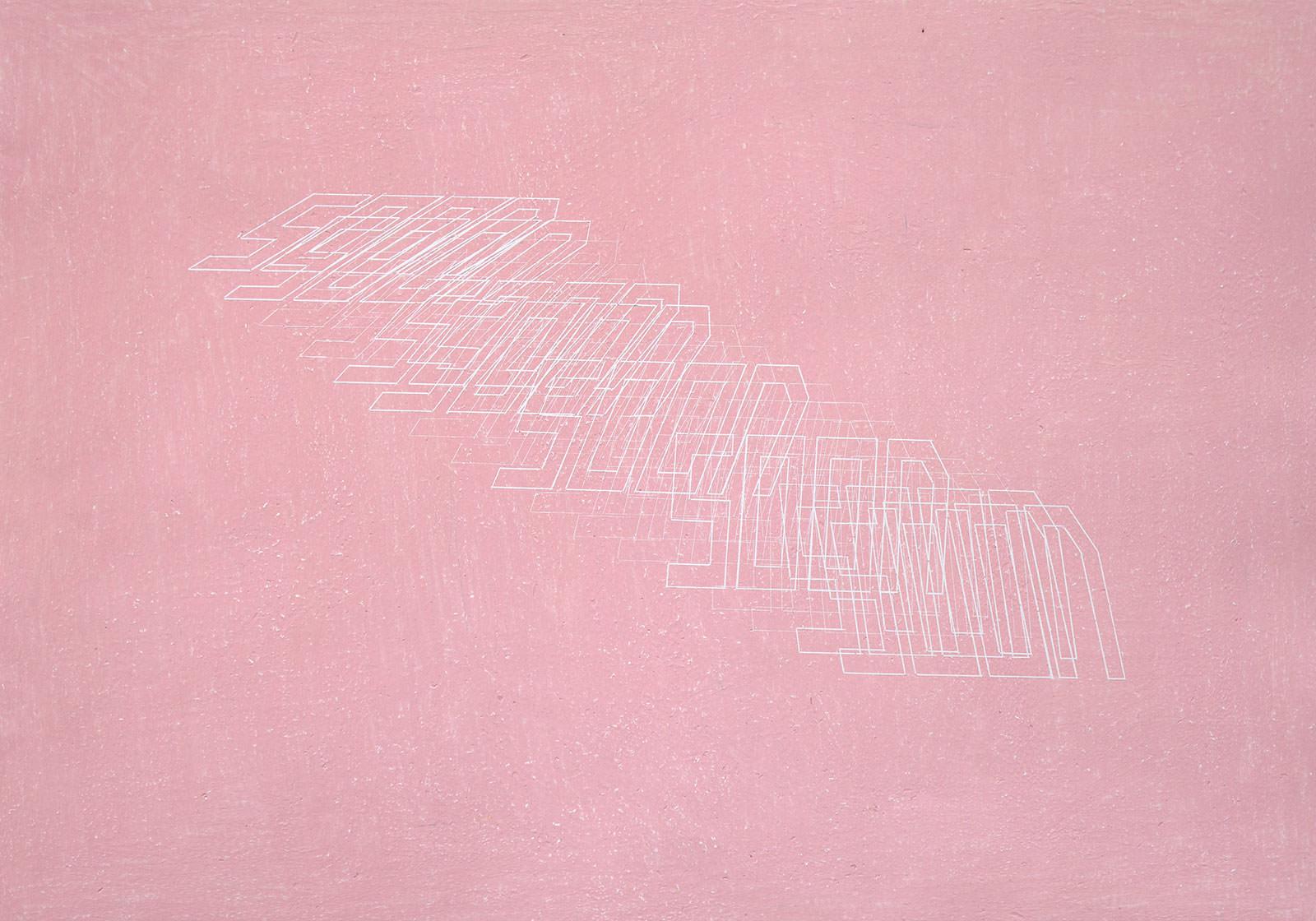 Liddy Scheffknecht, soon (before), 2020, Wachskreide auf Papier, 70 x 100 cm <br>© Liddy Scheffknecht &amp; Bildrecht Wien