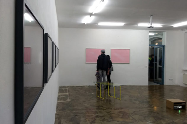 1.10.2020 sehsaal Wien Eröffnung dimensions / Liddy Scheffknecht