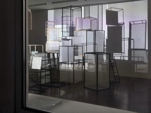 Gunda Gruber, Instllation mit Video und Sound, November/Dezember 2020 @sehsaal Wien