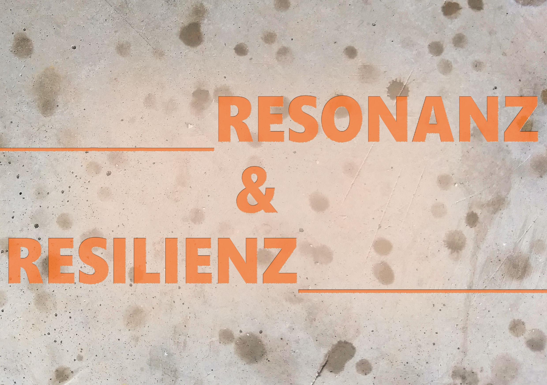 Resonanz und Resilienz Flyer
